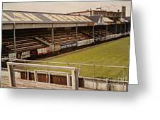 Swansea - Vetch Field - North Bank 2 - 1970s Greeting Card
