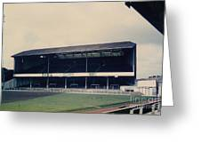 Swansea - Vetch Field - West Terrace 3 - 1970s Greeting Card