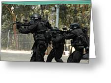 Swat Greeting Card