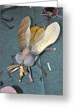 Swatter Bee Greeting Card