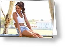 Sweat With Kayla Recipes Greeting Card
