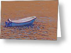 Swedish Boat Greeting Card