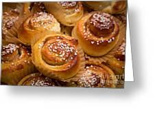 Swedish Cinnamon Rolls Greeting Card