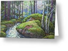 Swedish Woods Greeting Card