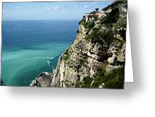 Sweeping Around The Amalfi Coast Greeting Card