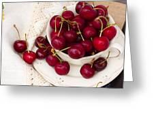 Sweet Cherry  Greeting Card