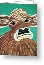 Sweet Cow Greeting Card