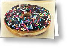 Sweet Indulgence - Donut Greeting Card