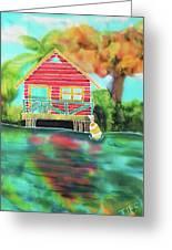 Sweet Island Home Greeting Card