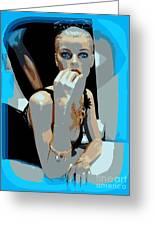 Sweet Judy Blue Eyes Greeting Card