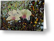 Sweet Magnolias Greeting Card