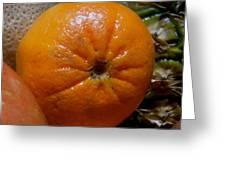 Sweet Mandarine Greeting Card