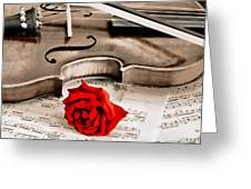 Sweet Music Greeting Card