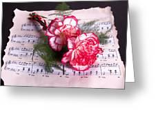 Sweet Music Greeting Card