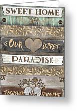 Sweet Paradise Series Greeting Card