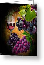 Sweet Red Wine # 3 Greeting Card