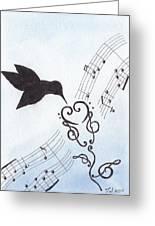 Sweet Symphony Greeting Card