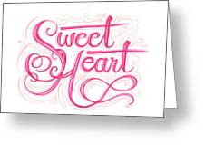 Sweetheart Greeting Card by Cindy Garber Iverson