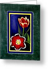 Sweetheart Tulips Greeting Card