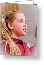 Sweetly Singing Greeting Card