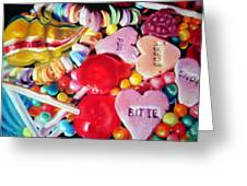 Sweets For My Sweet Greeting Card