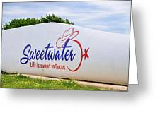 Sweetwater Sign  Greeting Card
