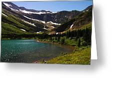 Swift Current Lake Greeting Card