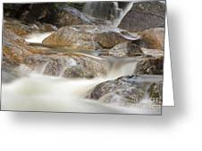 Swift River - White Mountains New Hampshire Usa Greeting Card