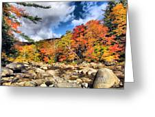 Swift River New Hampshire Greeting Card