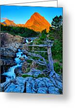Swiftcurrent Falls Greeting Card
