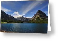 Swiftcurrent Lake - Glacier Np Greeting Card