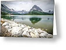 Swiftcurrent Lake Greeting Card