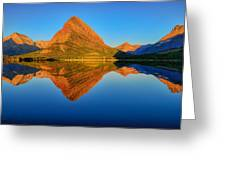 Swiftcurrent Morning Reflections Greeting Card