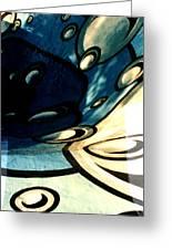 Swimming Pool Mural Detail 2 Greeting Card