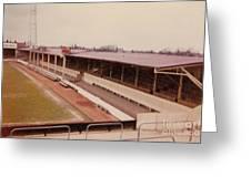 Swindon - County Ground - Main Stand 1 - 1970 Greeting Card
