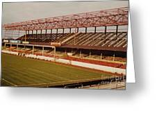 Swindon - County Ground - Main Stand 2 - 1970s Greeting Card