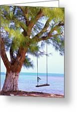 Swing Me... Greeting Card