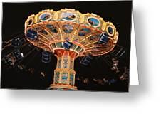 Swing Greeting Card by Steve Karol
