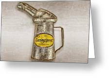 Swingspout Oil Canister Greeting Card