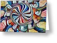 Swirl 12 Greeting Card