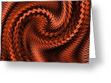Swirl Creativiana Catus 1 No.2 V A Greeting Card