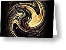 Swirl Design 2 Greeting Card