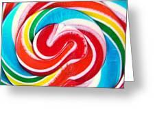 Swirl Of Happiness Greeting Card