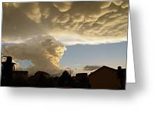 Swirling Clouds Greeting Card