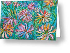 Swirling Color Greeting Card