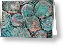 Swirling Greeting Card