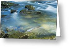 Swirling Pools Greeting Card