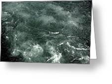 Swirling Water. Greeting Card