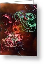 Swirls 2 Greeting Card