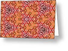Swirls Abstract Greeting Card